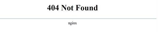 一般默认的404页面