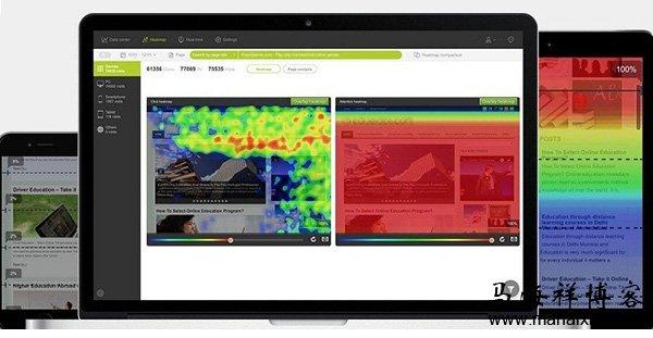 怎样使用网站热点图优化网页布局设计?